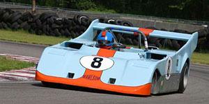 BHJ Buick/Oldsmobile/Pontiac/Rover 215 V8 Harmonic Damper in Omnitech Rawlson Can Am Race Car